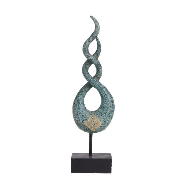 Deko Skulpturen Modern deko skulptur helix modern ebay